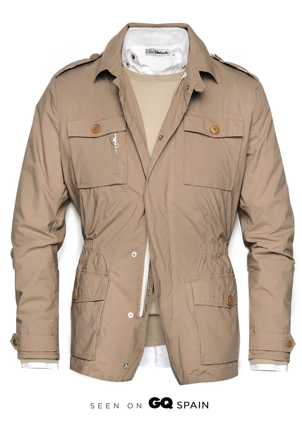 Lightweight safari jacket | MANGO MAN