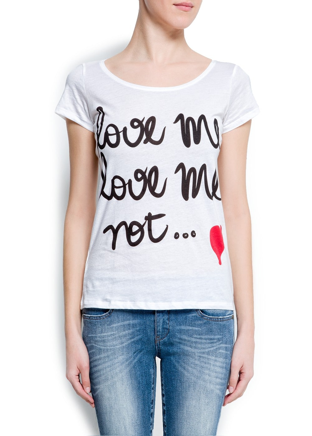 """love me"" t-shirt 