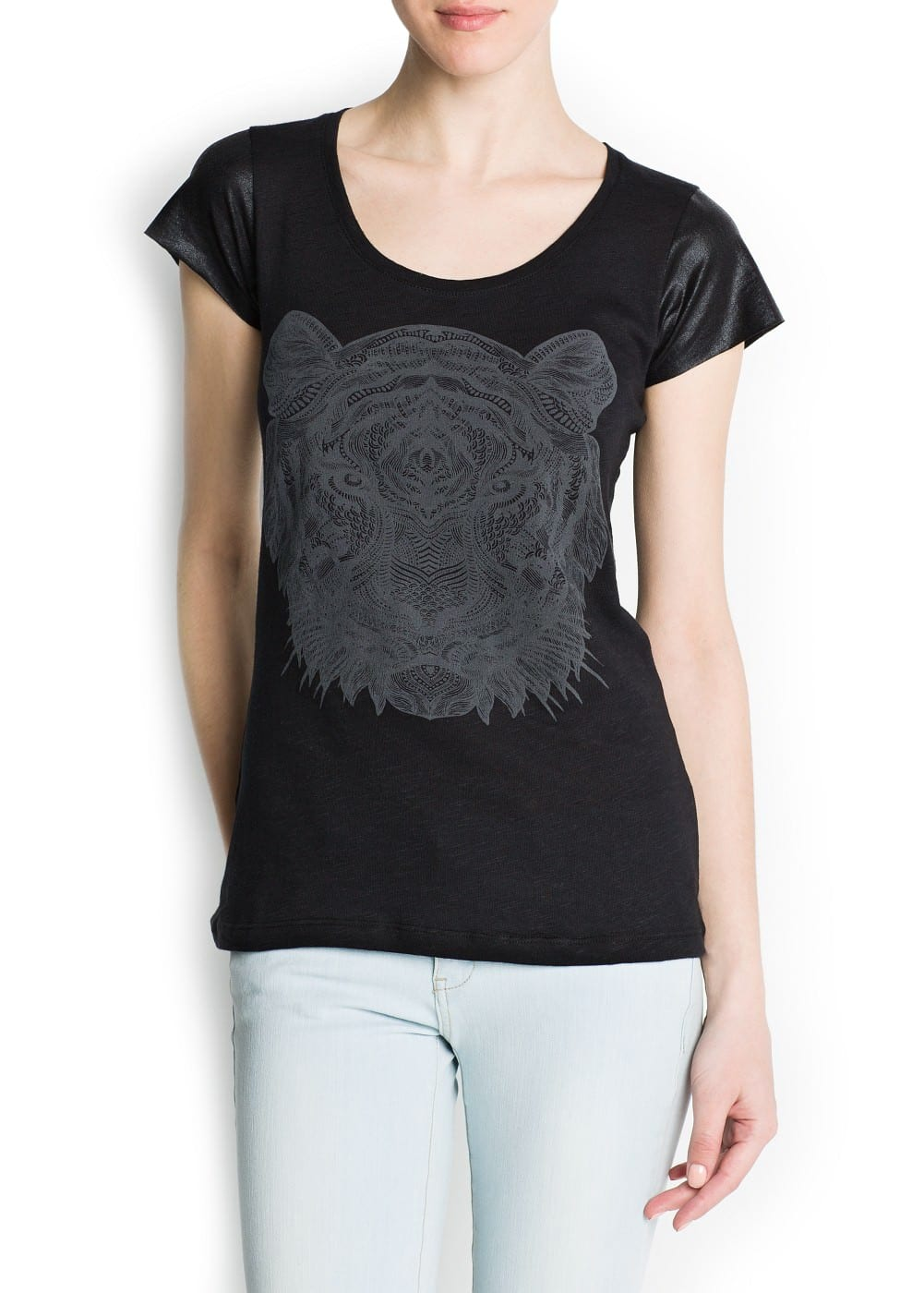 Tiger t-shirt | MANGO