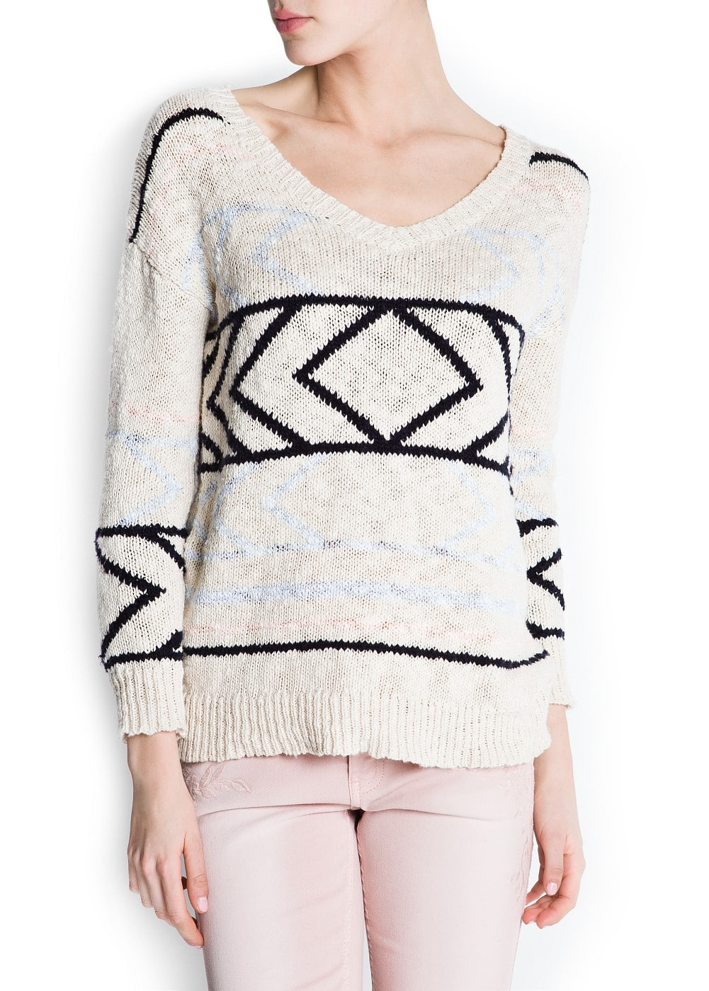 Ethnic inspired jumper