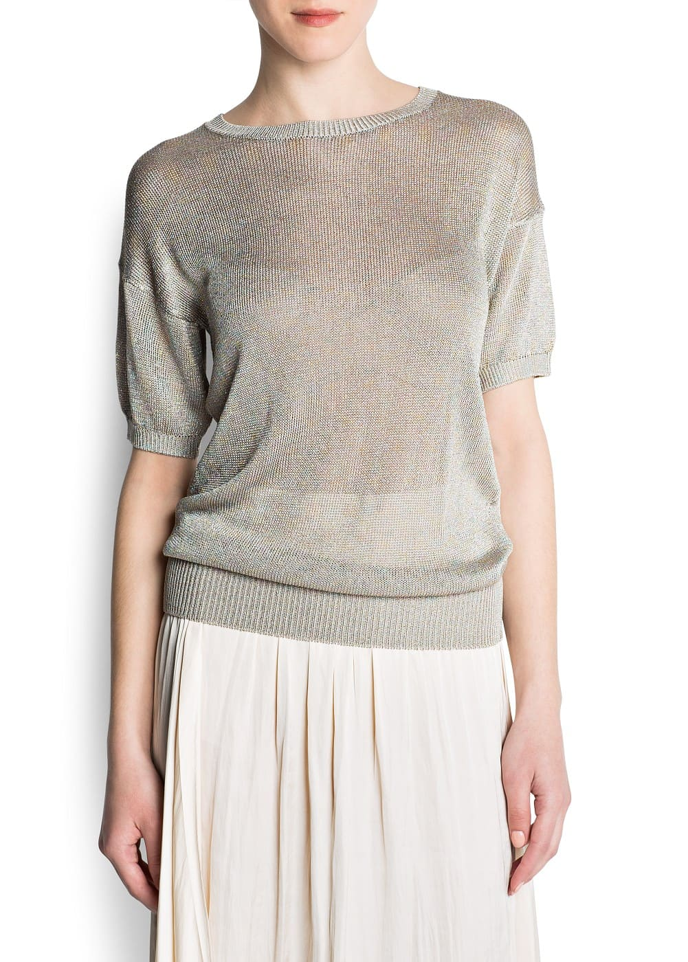 Multicolored lurex jumper