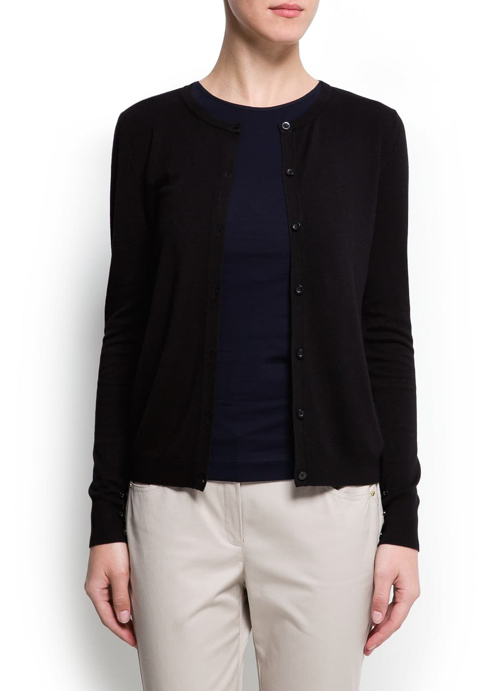Essential cardigan | MANGO