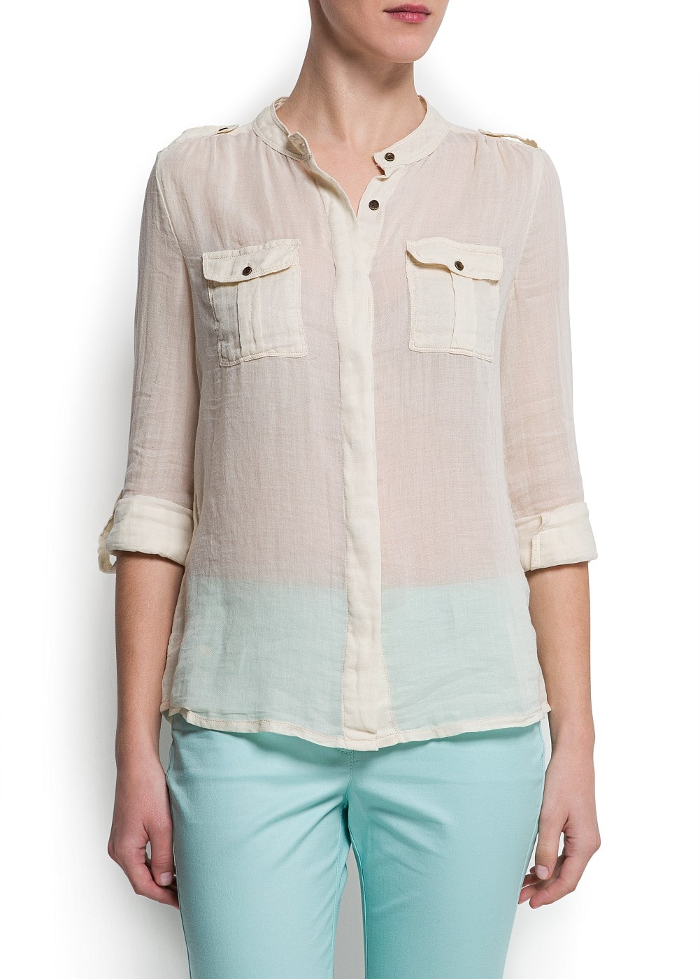 Light cotton blouse