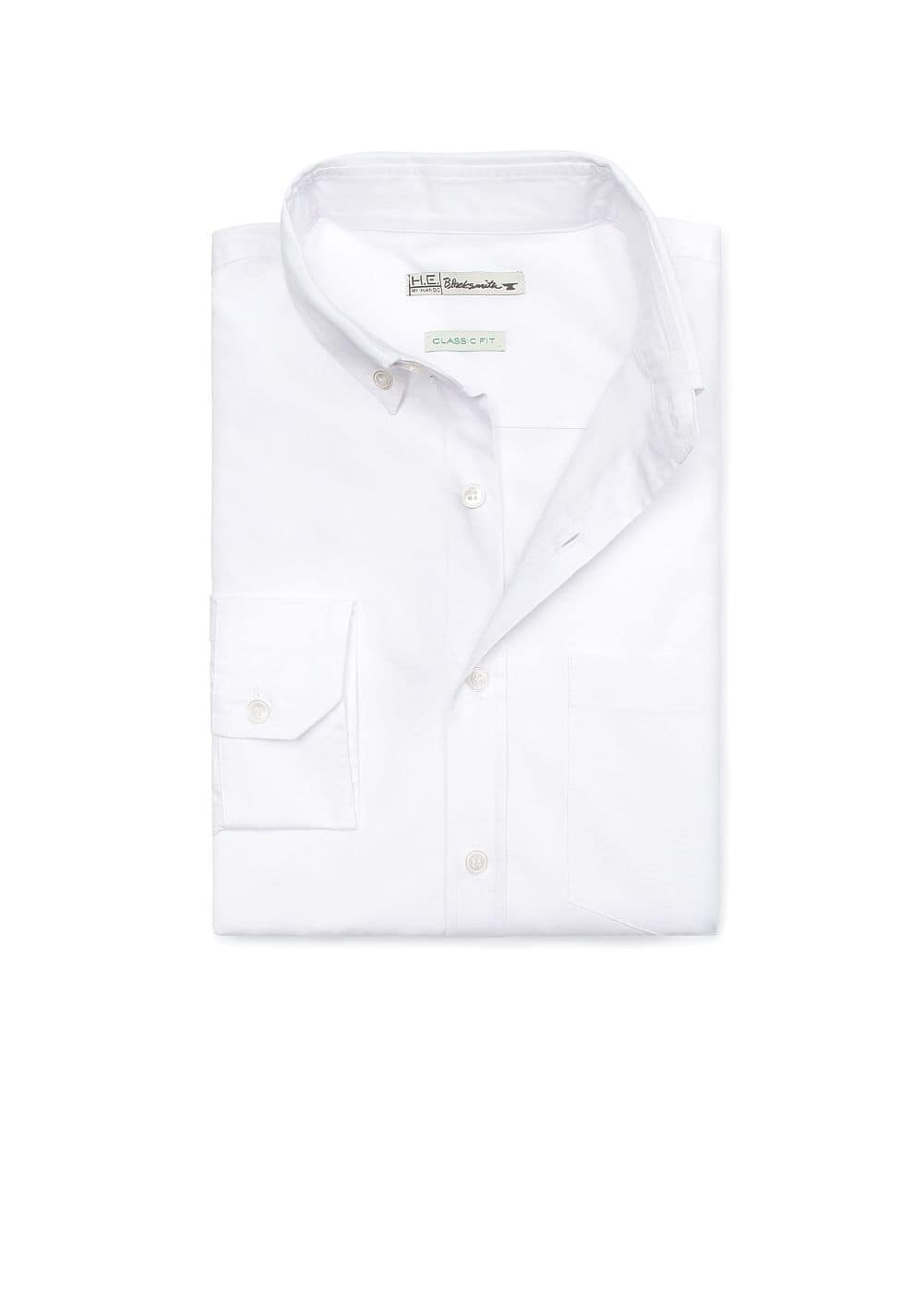 Pocket slim-fit shirt