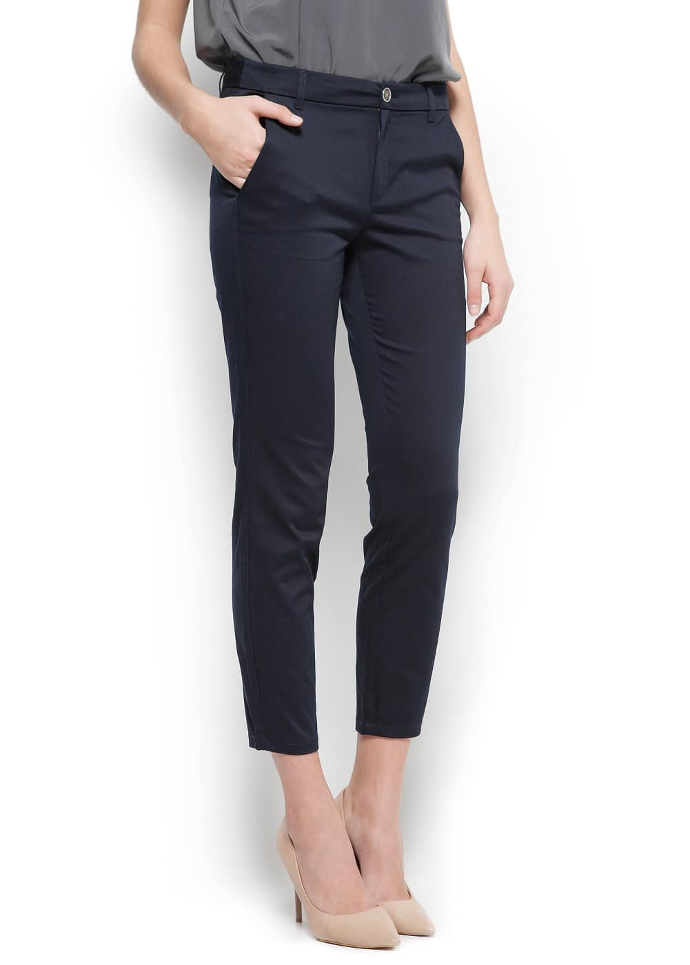 Suit slim trousers
