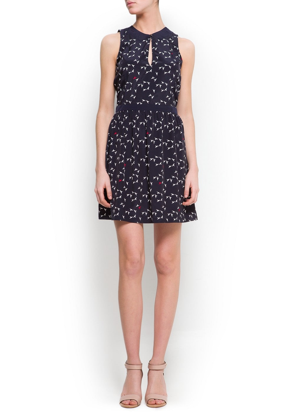 Printed naïf dress | MANGO