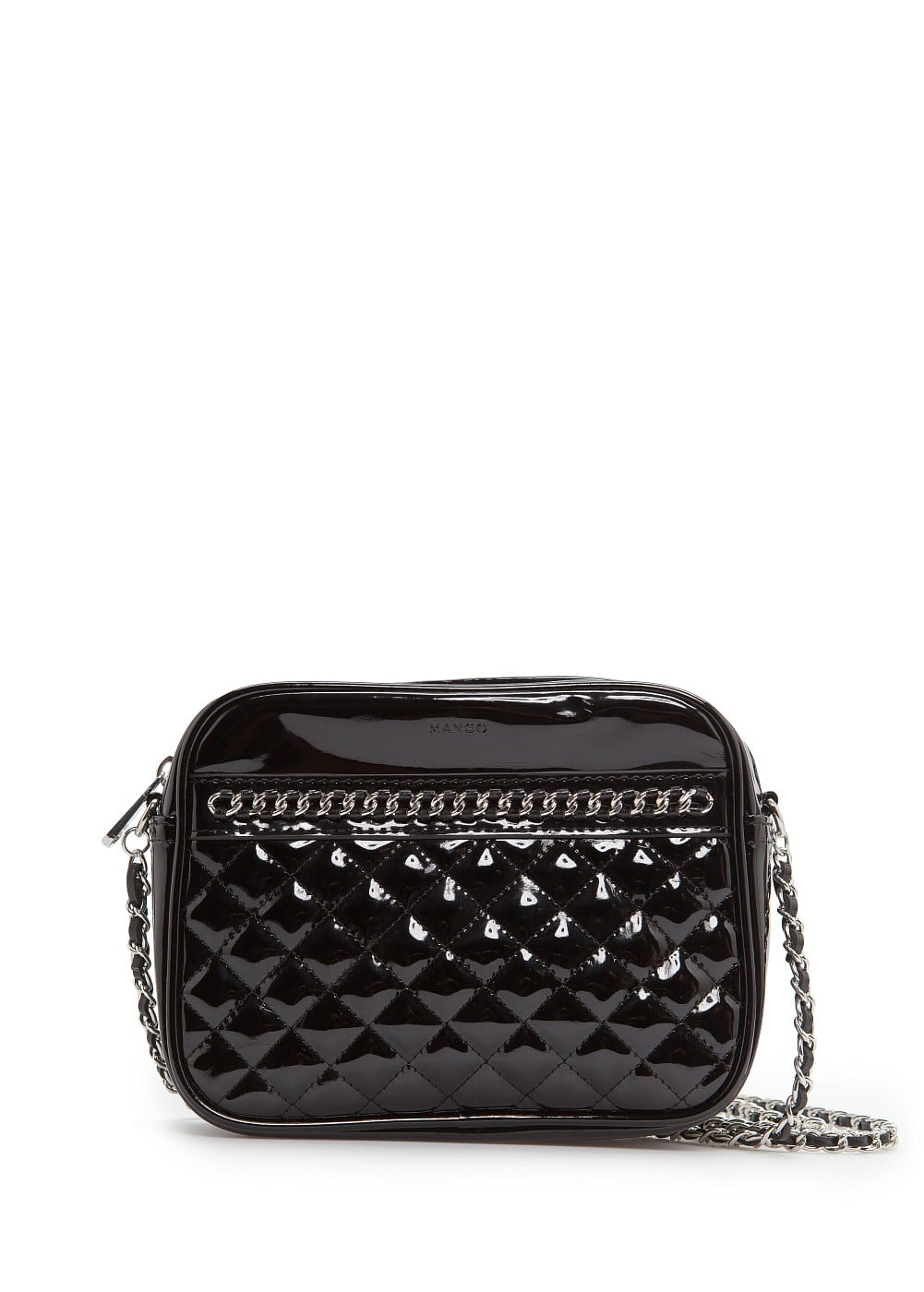 Chain patent bag | MANGO