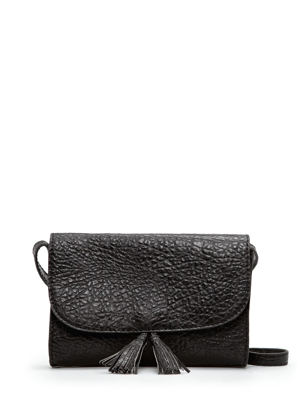 Shoulder bag with tassels | MANGO