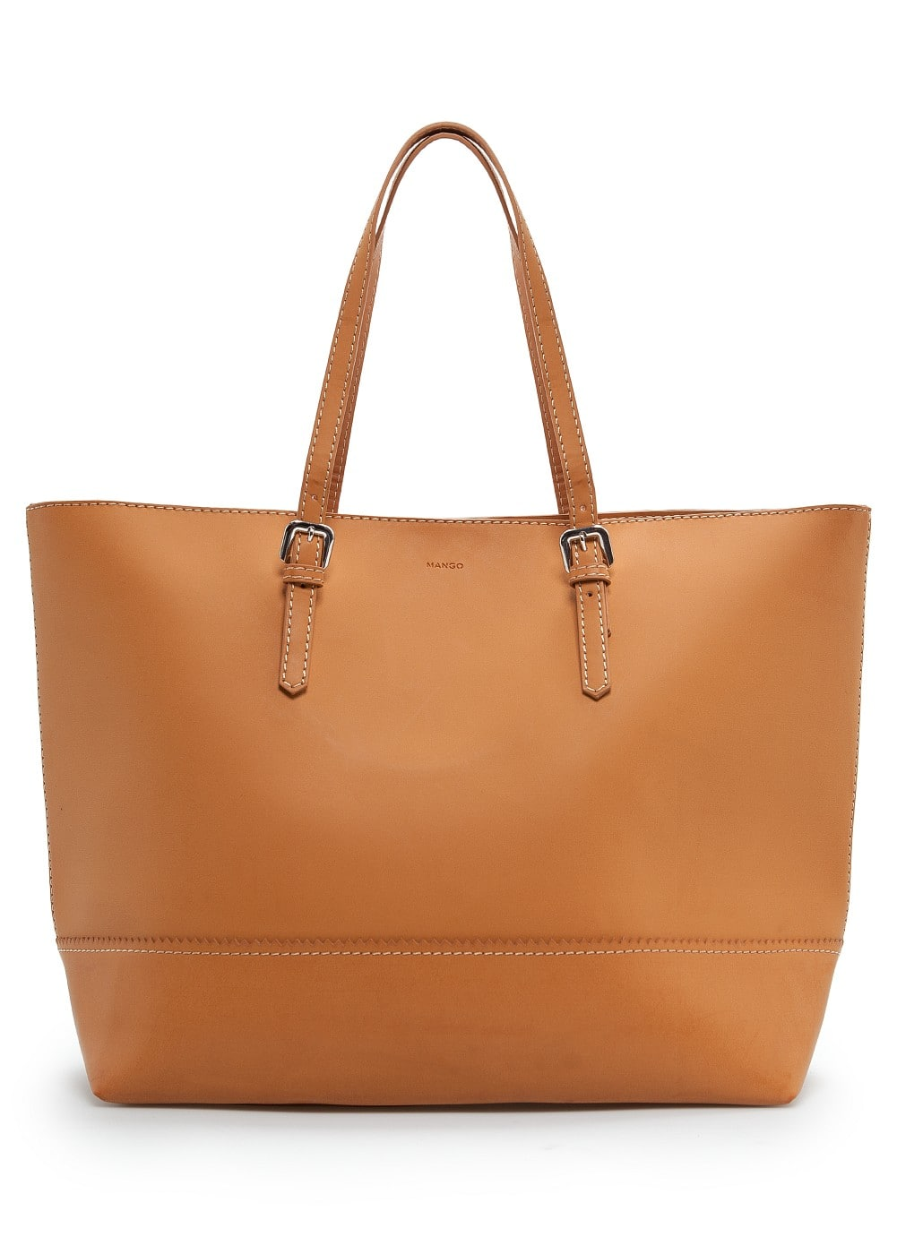 Bolso shopper hebillas