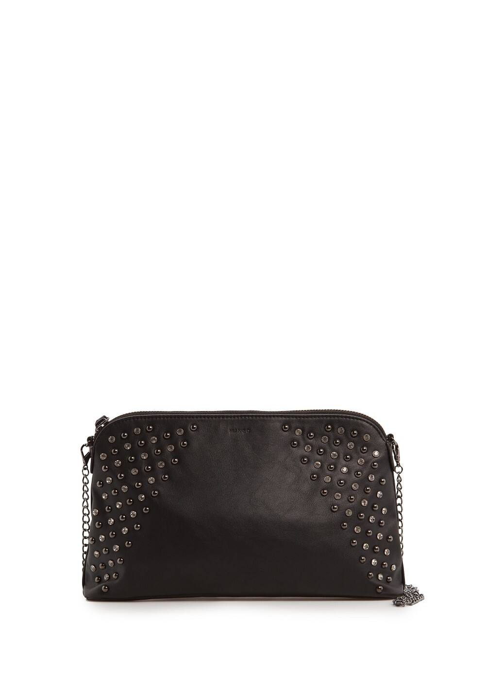 Crystals and studs clutch