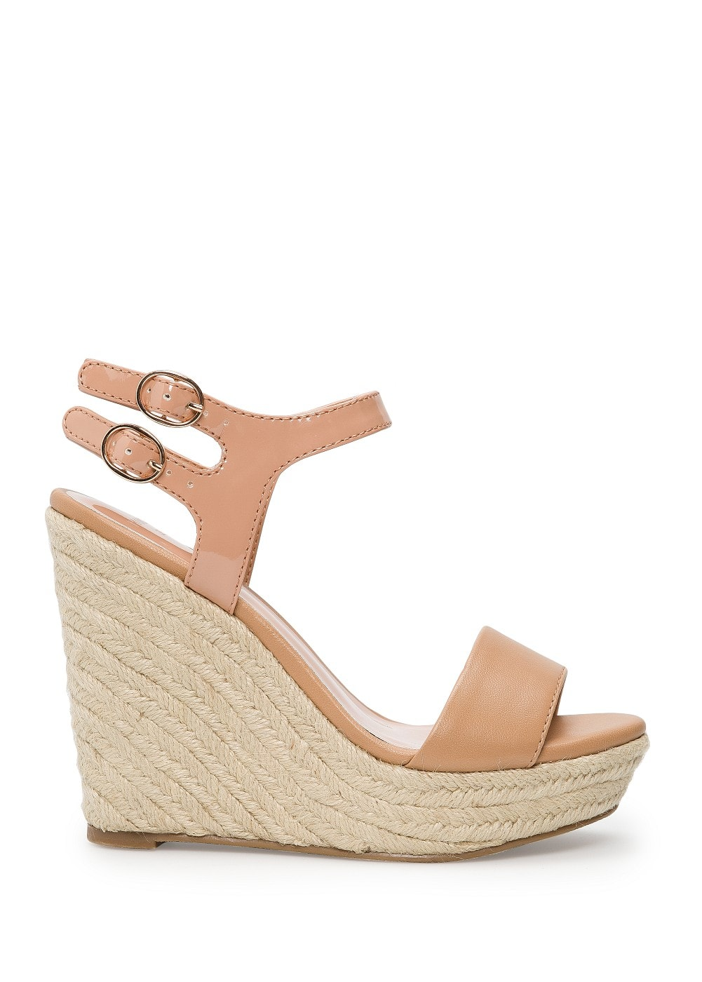 Espadrille wedge sandals | MANGO