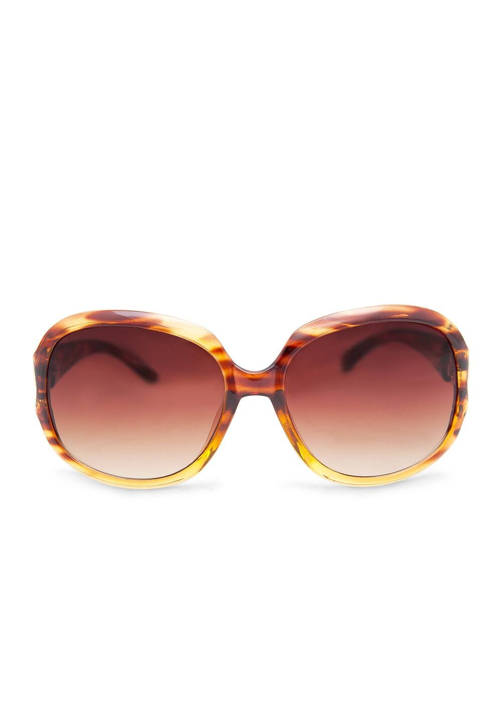 Metallic detail sunglasses