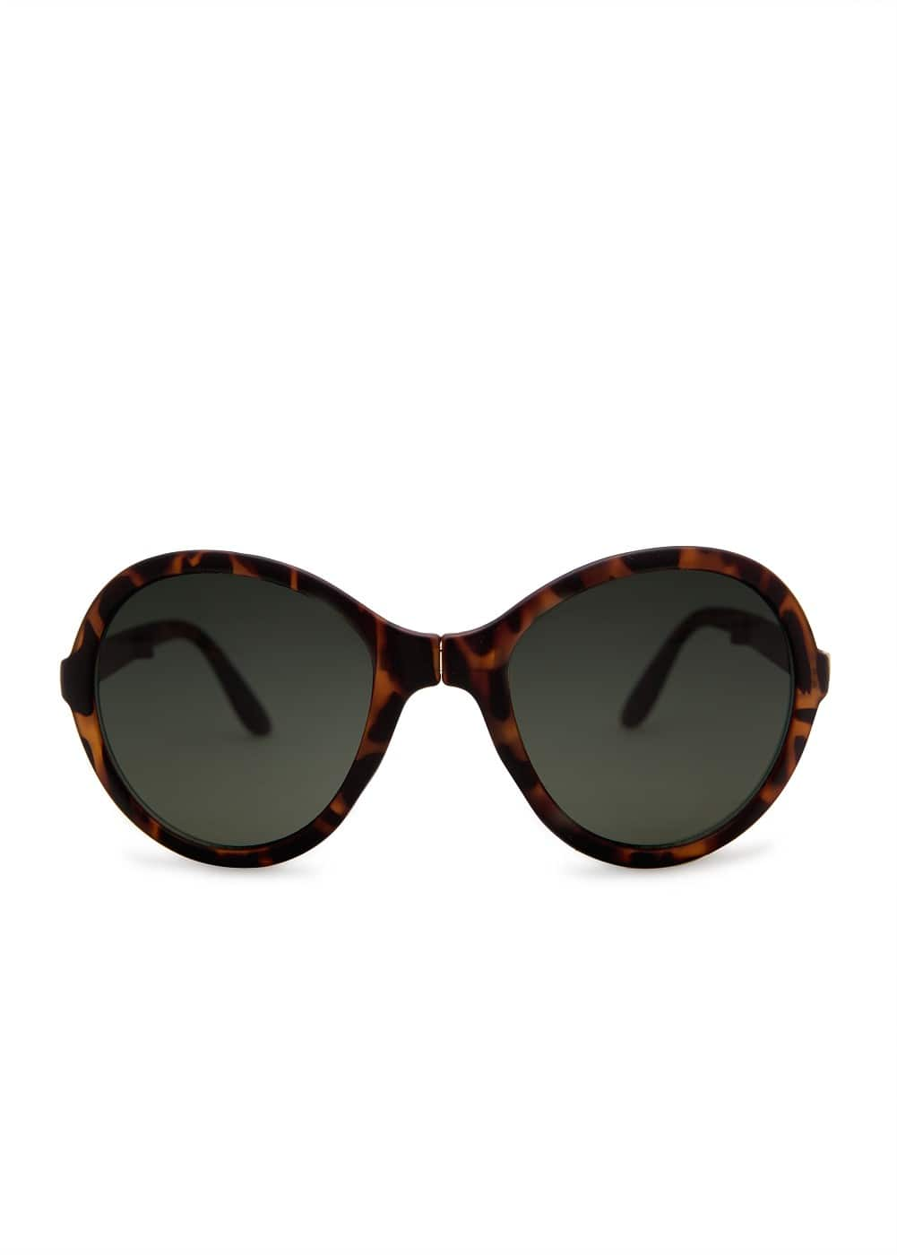 Round folding sunglasses | MANGO