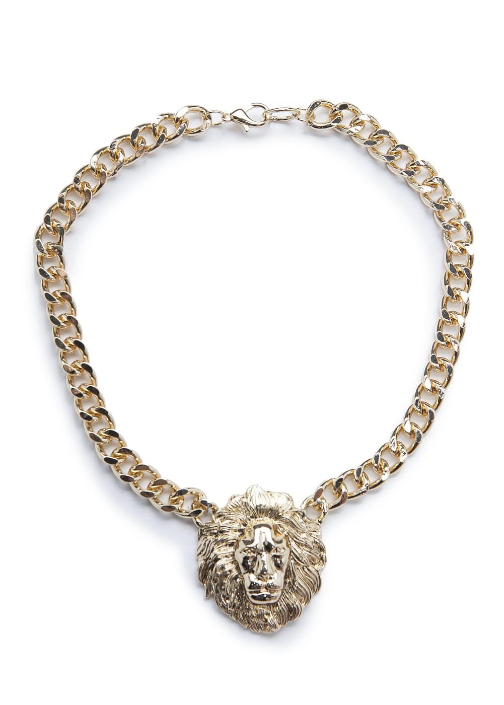 Lion pendant necklace
