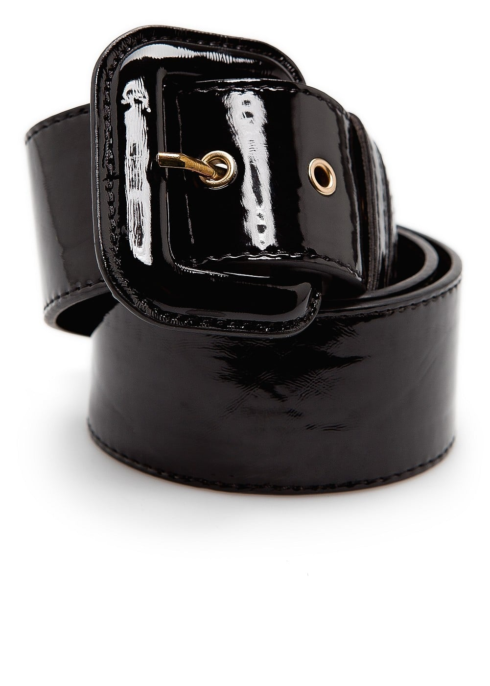 Wide patent belt | MANGO