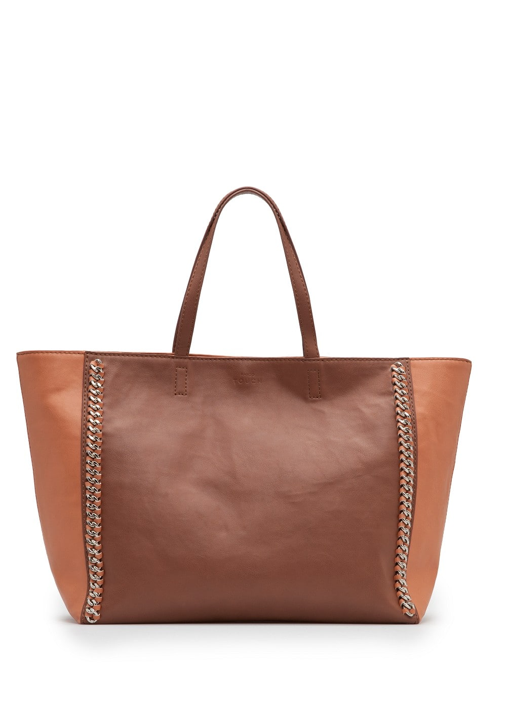 Chain trimmed shopper