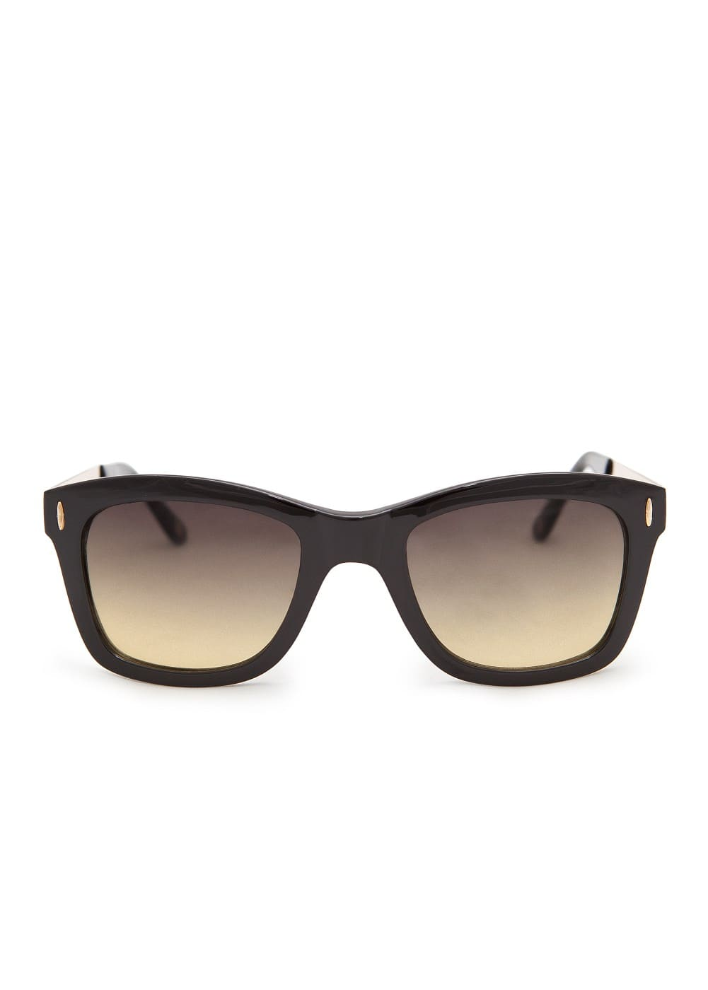 Metallic arm sunglasses