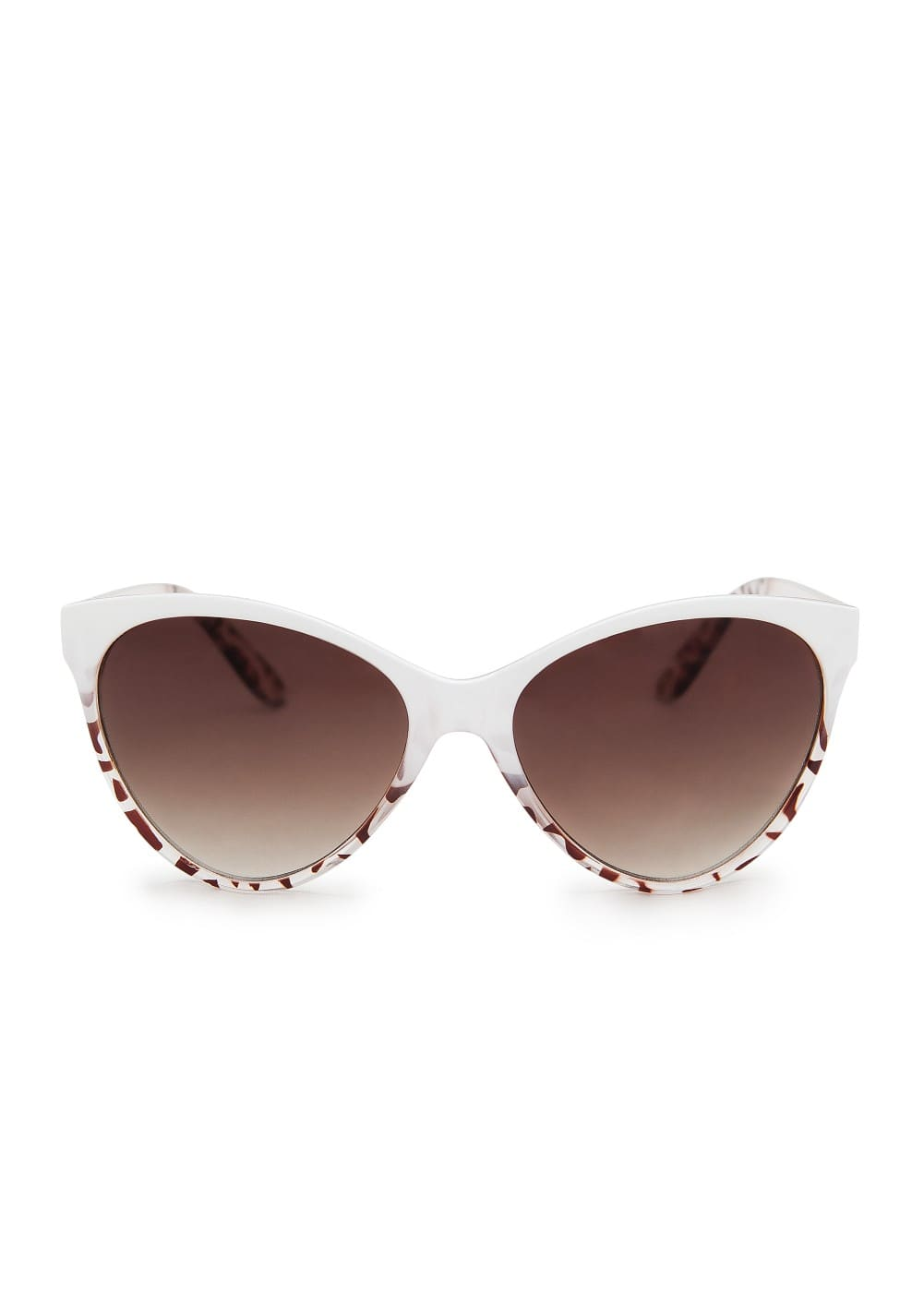 Degradé cat-eye sunglasses