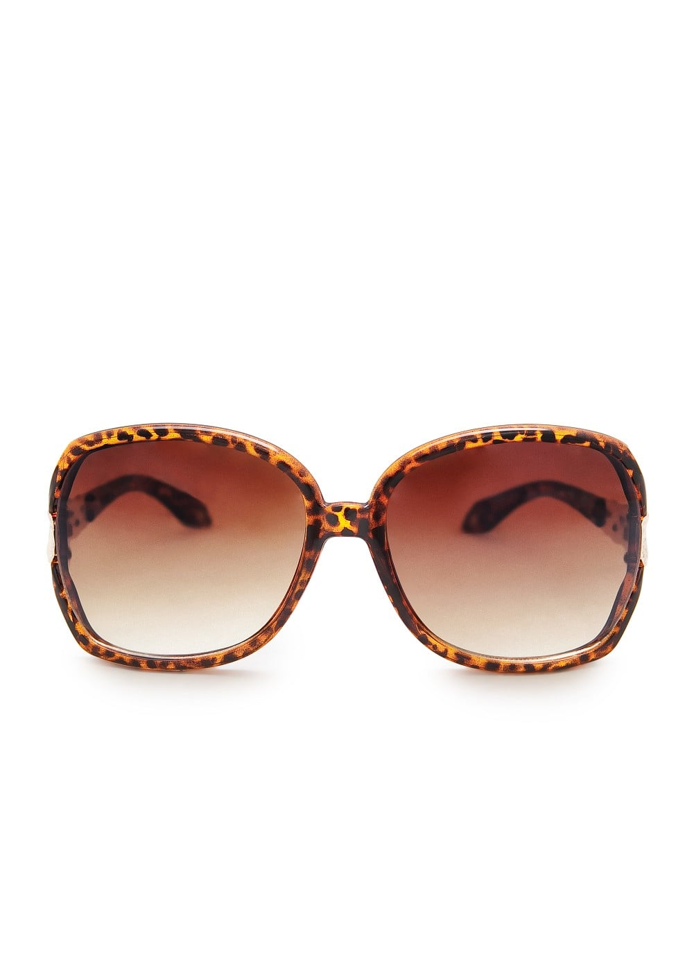 Braided appliqué sunglasses