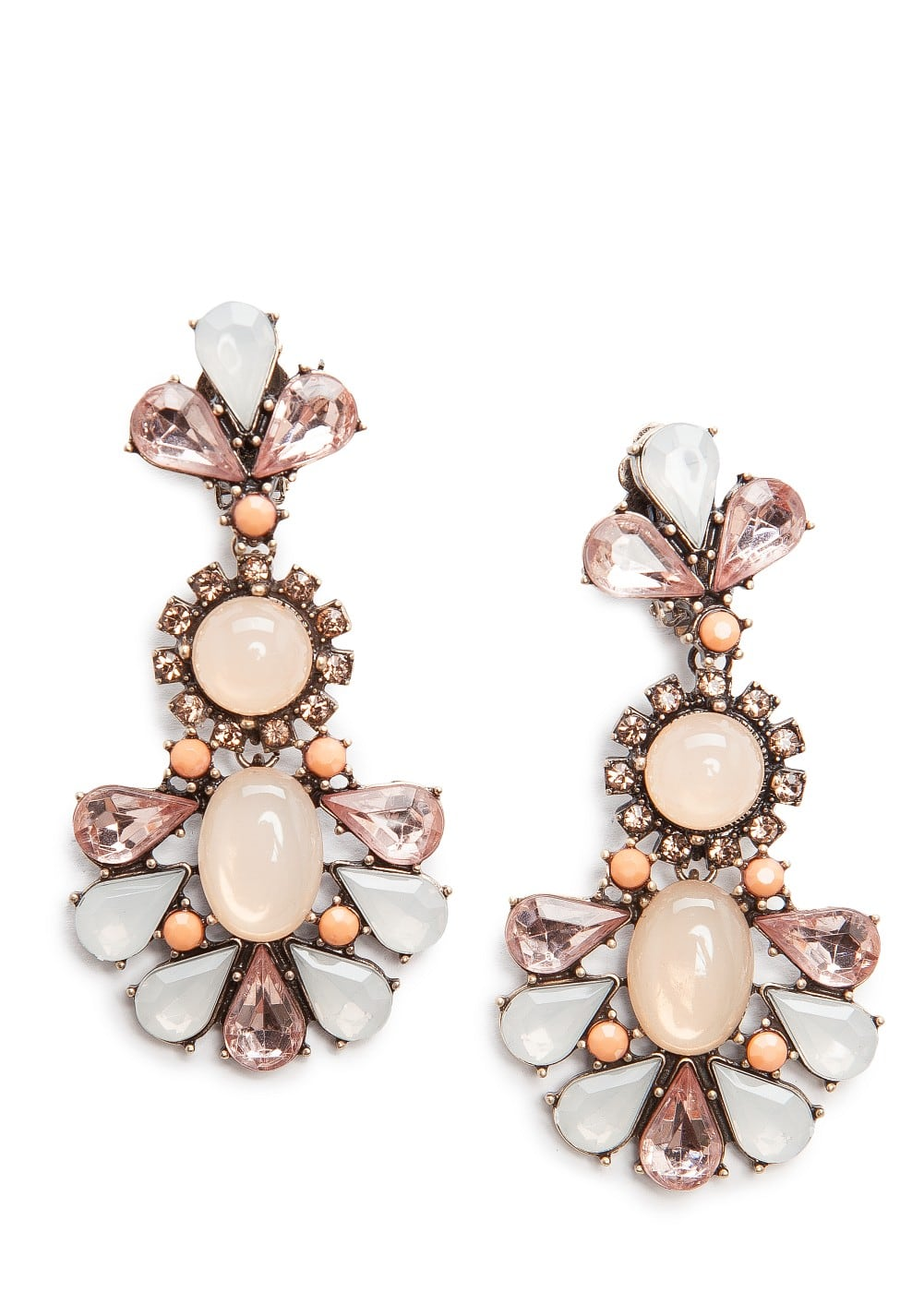 Stones earrings | MANGO