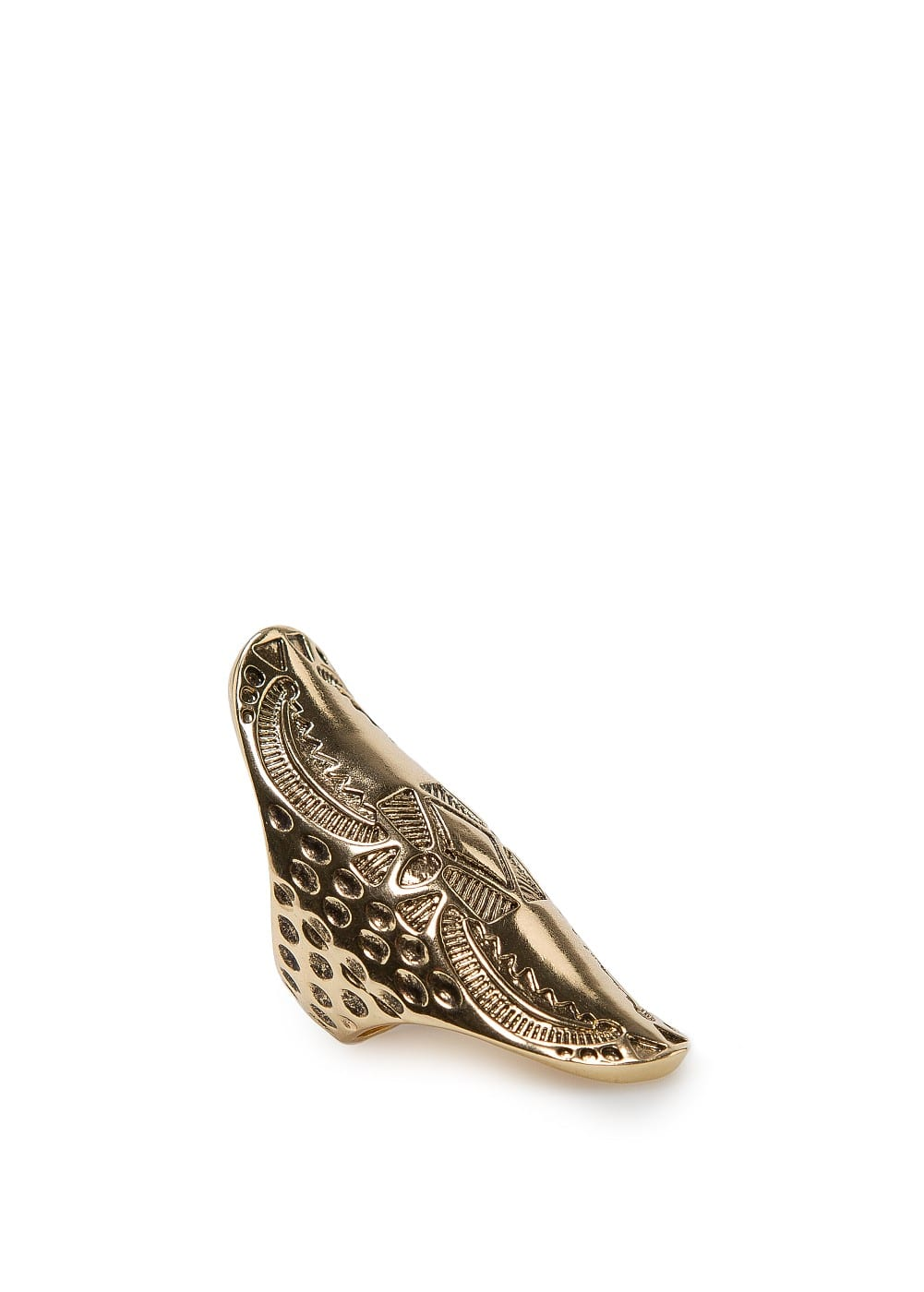 Tribal embossed ring | MANGO