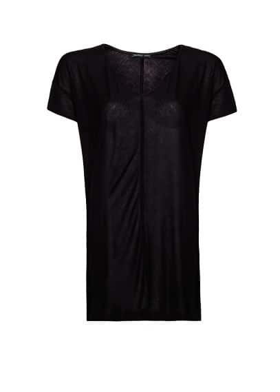 Vertical stitching t-shirt