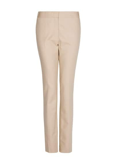 Slim suit trousers