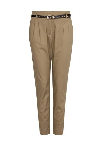 Tapered chino trousers