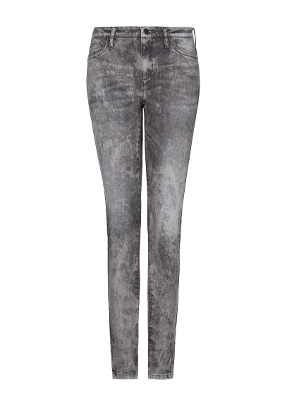 Jeans super slim acid wash