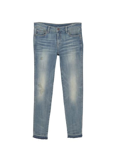 Skinny push-up Uptown jean pantolon Mango