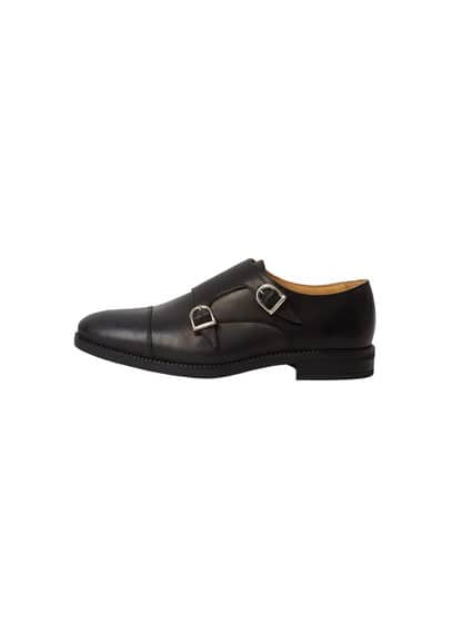 Chaussures Monk Strap Cuir - New now!, Collection Tailored, 100 % cuir, Doublure et semelle intérieure en cuir, Semelle en caoutchouc, Fabriqué en Espagne