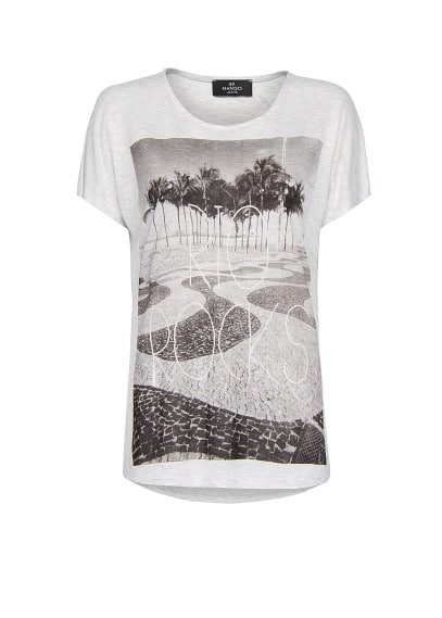 City photo print t-shirt