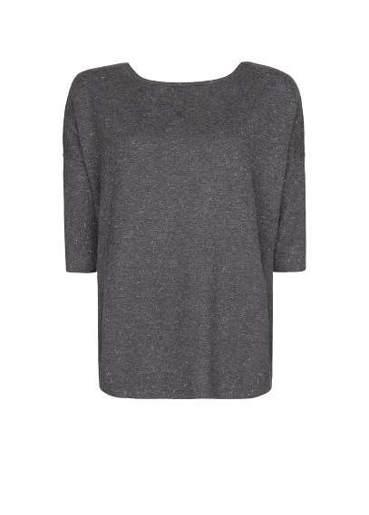 Lurex ovesized sweater