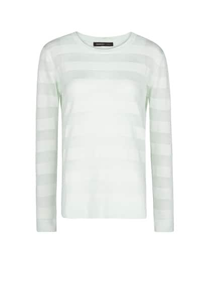 Striped texture jumper