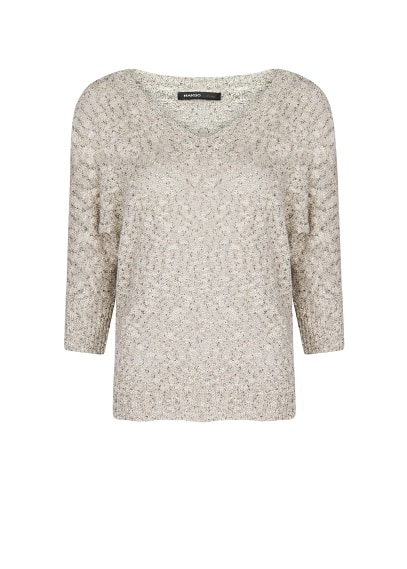 Cotton flecked jumper