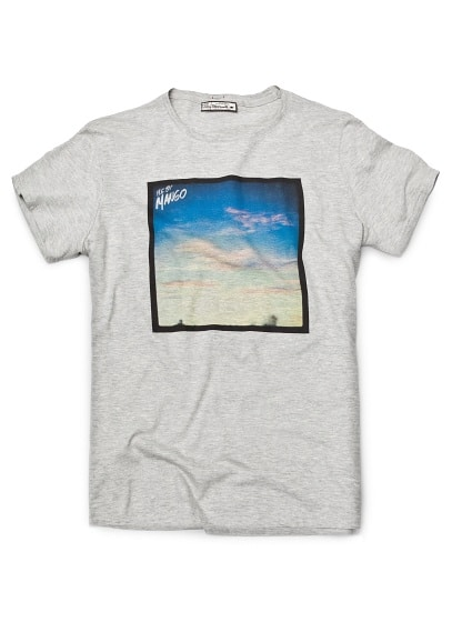 PRINTED PHOTO T-SHIRT