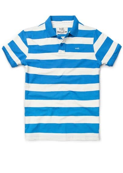 STRIPED POLO-SHIRT