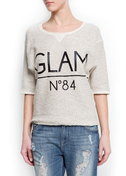 Glam sweatshirt