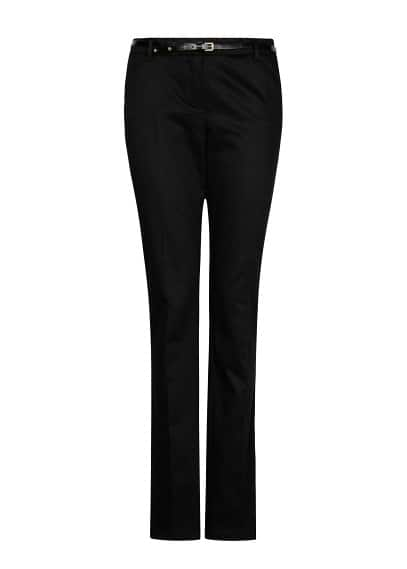 Straight-cut suit trousers