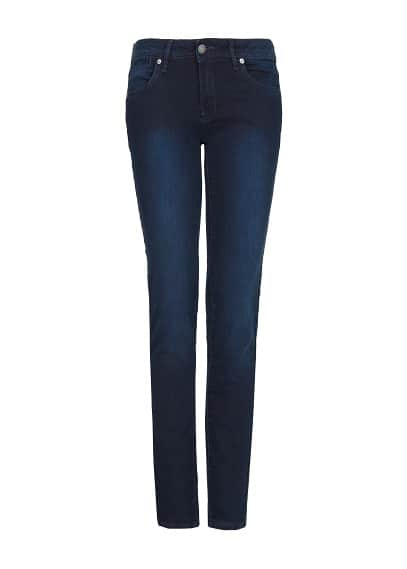 Jeans super slim strass
