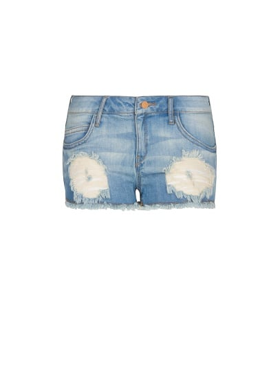 Short denim desgastados