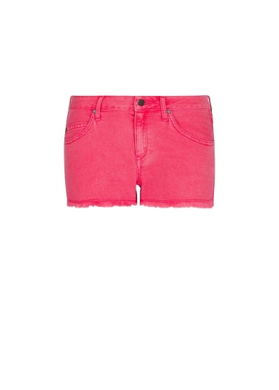 Frayed hems shorts