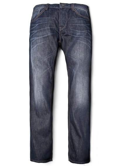 ROBERT STRAIGHT-LEG WASHED JEANS