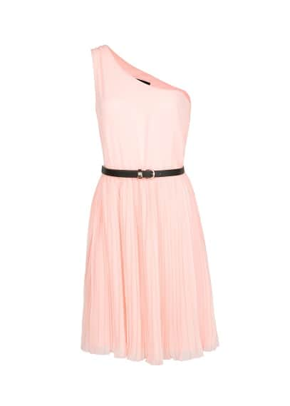 Chiffon asymmetric dress