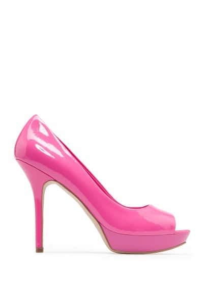 Special Prices Patent peep-toe