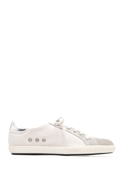 Leather details sneakers