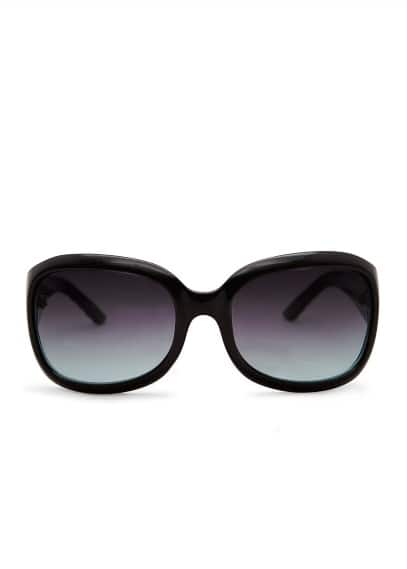 Embossed arms sunglasses