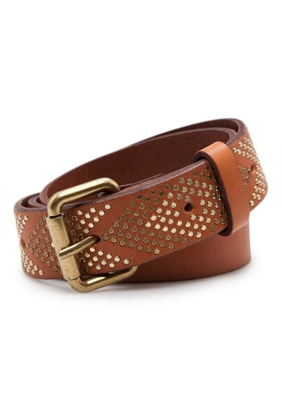 TOUCH - Arrows leather belt