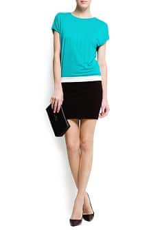 Color block dress