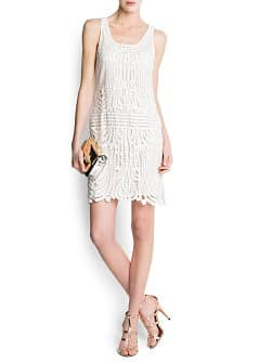 Crochet cotton dress